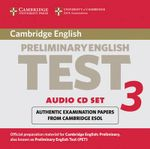 Cambridge Preliminary English Test 3 Audio CD Set (2 CDs) : Examination Papers from the University of Cambridge ESOL Examinations - Cambridge ESOL
