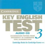 Cambridge Key English Test 3 Audio CD : Examination Papers from the University of Cambridge ESOL Examinations - Cambridge ESOL