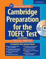 Cambridge Preparation for the TOEFL Test Book with CD-ROM - Jolene Gear