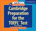 Cambridge Preparation for the TOEFL Test Book : Internet Bases Test - Jolene Gear