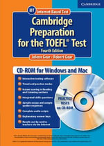 Cambridge Preparation for the TOEFL Test Student CD-ROM - Jolene Gear