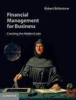 Financial Management for Business : Cracking the Hidden Code - Robert Bittlestone