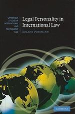 Legal Personality in International Law : Cambridge Studies in International and Comparative Law - Roland Portmann