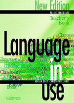 Language in Use Pre-Intermediate New Edition Teacher's book : Pre-intermediate - Adrian Doff