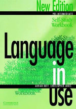 Language in Use Pre-Intermediate Self-study Workbook - Adrian Doff