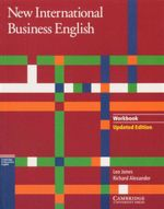 New International Business English : Workbook : Cambridge Professional English - Leo Jones