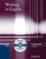 Working in English Teacher's Book with CD-ROM : Teacher's Book - Leo Jones