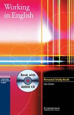 Working in English Personal Study Book with Audio CD - Leo Jones