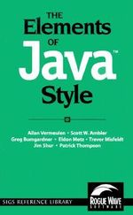 The Elements of Java Style - Allan Vermeulen