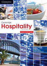 Cambridge Hospitality with Student CD-ROM - Tracey Holloway