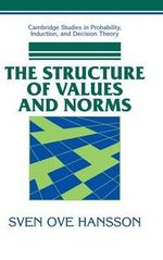 The Structure of Values and Norms - Sven Ove Hansson