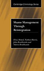 Shame Management through Reintegration - Eliza Ahmed
