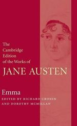 Emma : The Cambridge Edition of the Works of Jane Austen - Jane Austen