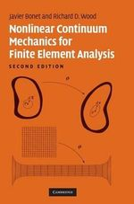 Nonlinear Continuum Mechanics for Finite Element Analysis - Javier Bonet