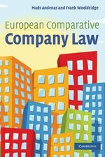 European Comparative Company Law - Mads Andenas