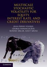 Multiscale Stochastic Volatility for Equity, Interest-Rate and Credit Derivatives : Mathematics, Finance and Risk Ser. - Jean-Pierre Fouque