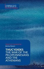 Thucydides : The War of the Peloponnesians and the Athenians - Thucydides