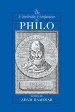 The Cambridge Companion to Philo : Cambridge Companions to Philosophy (Hardcover)