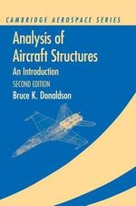 Analysis of Aircraft Structures : An Introduction - Bruce K. Donaldson