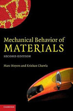 Mechanical Behavior of Materials - Marc Andre Meyers