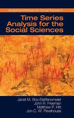 Time Series Analysis for the Social Sciences - Janet M. Box-Steffensmeier