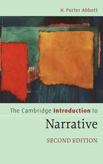 The Cambridge Introduction to Narrative - H.Porter Abbott