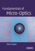 Fundamentals of Micro-Optics - Hans P. Zappe