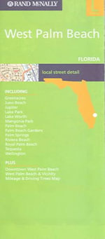 West Palm Beach (Florida) City Map - Rand McNally