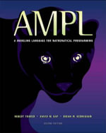 AMPL : a Modeling Language for Mathematical Programming - David Gay