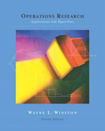 Operations Research : Applications and Algorithms - Wayne L. Winston