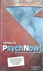 Psychnow!: Version 2.0 : Interactive Experiences in Psychology - Wadsworth Publishing