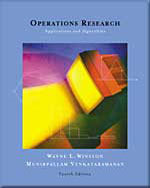 Operations Research : Applications and Algorithms (with CD-Rom and Infot rac) + Operations Research: Applications and Alg - Wayne L. Winston