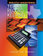 Recordkeeping for Texas - Burton S. Kaliski