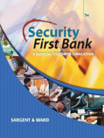 Security First Bank : A Banking Customer Simulation - Patsy Hall Sargent