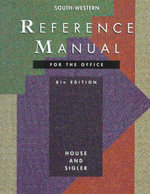 Reference Manual for the Office - Clifford R. House