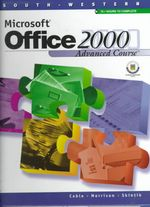 Microsoft Office 2000 : Advanced Course - Sandra Cable