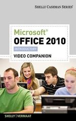 Video DVD for Shelly/Vermaat S Microsoft Office 2010 : Introductory - Gary B Shelly