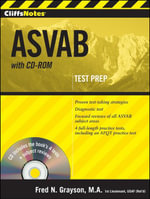 CliffsNotes ASVAB with CD-ROM - Fred N Grayson
