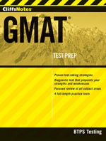 CliffsNotes GMAT with CD-ROM - BTPS Testing