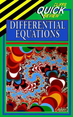CliffsQuickReview Differential Equations - Steven A LeDuc