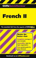 CliffsQuickReview French II - Gail Stein