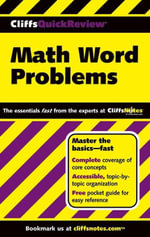 CliffsQuickReview Math Word Problems - Karen Anglin
