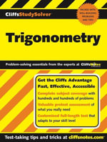 CliffsStudySolver Trigonometry - David A Herzog