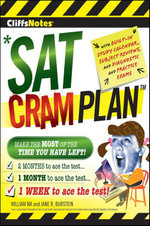 CliffsNotes SAT Cram Plan 2nd Edition - Jane R. Burstein