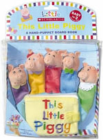 This Little Piggy Hand - Finger Puppet with Board Book : Little Piggy Hand-Puppet Board Book - Michelle Berg