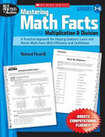 Mastering Math Facts: Multiplication & Division : Grades 3-6 - Richard Piccirilli