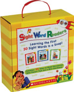 Sight Word Readers Boxed Set : Learning the First 50 Sight Words Is a Snap! [With Mini-Workbook]