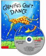 Giraffes Can't Dance with Paperback Book - Giles Andreae