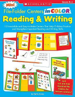 Reading and Writing, Grade K-1 : 12 Irresistible and Easy-To-Make Centers That Help Children Practice and Strengthen Important Reading and Writing Skills - Betty Jo Evers