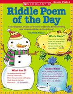 Riddle Poem of the Day : 180 Delightful, Guess-Me Poems That Build Early Reading and Listening Skills-All Year Long! - Betsy Franco